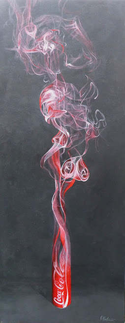 Smoking Can Painting