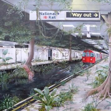 Victoria Jungle Painting