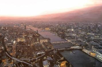 London Cityscape Painting
